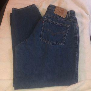 Vintage High Waist Mom Levi Jeans